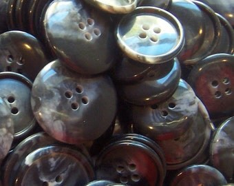 Black Splash Buttons - 100