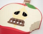 Bitten Apple ukulele ( applelele )