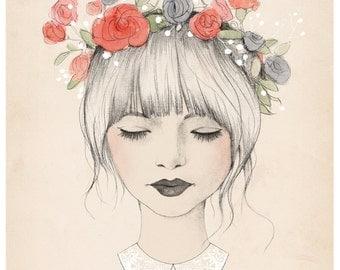 Avery, Spring Daydream Print - 8X10