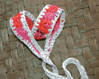Valentine's Day (pink - sugar) Earth Friendly Yoga Mat Strap