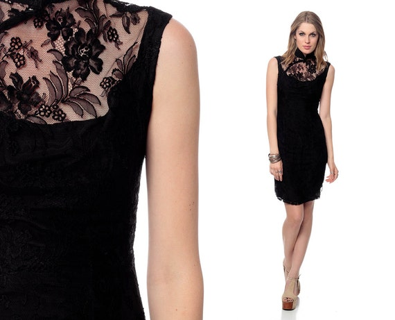 ce220491c 41 Best Traditional Chinese Outfit Images On Pinterest Chinese Cheongsam  Top Dress Black: Black Lace Dress 60s Mini Asian Sheer Bib Chinese CHEONGSAM