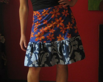 Knee length Wrap Skirt  (one size fits most small - large)