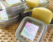 100% Natural Solid Lotion Bar  Available in Lavender, Sweet Orange, Tea Tree Oil and Unscented