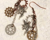 Fairy Steampunk Earrings
