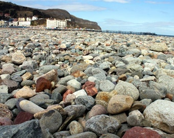 Llandudno - Wales Beach Sea Coast Rocks Holiday UK United Kingdom Alice in Wonderland Home Decor Photography Art - 8x10 Photograph