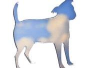 Jack Russell Hund Brosche / Pin