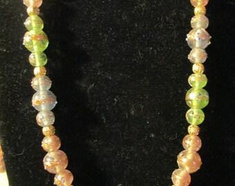 Necklace - Pastel Rainbow N0009
