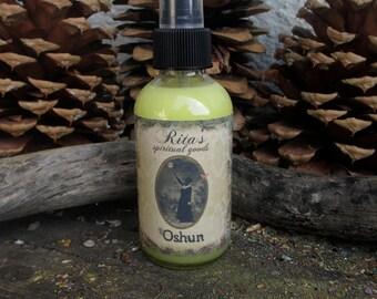 Rita's Oshun Spiritual Mist Spray - Beauty, Creativity, Wishes - Pagan, Hoodoo, Witchcraft, Juju