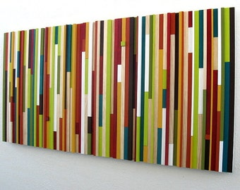 Wood Sculpture Wall Art - Abstract Art - Painting - Modern Art