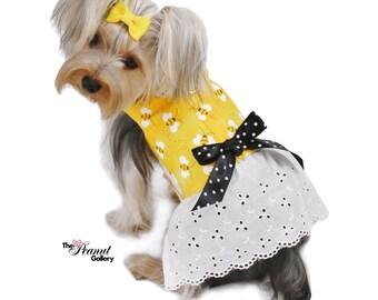 UnBEElievably Cute Dog Dress Harness Size XXXS through MEDIUM by Doogie Couture