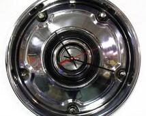 1969 - 1976 Chevrolet Blazer Hubcap Clock - Chevy Pickup Truck Wall Clock