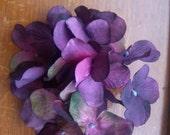 Purple  Hydrangea Flower Hair Clip