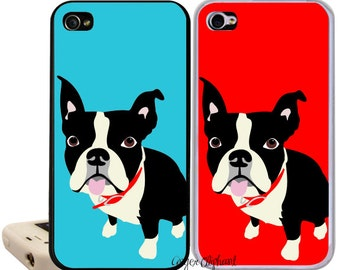 Boston Terrier iPhone Case Fits iPhone 6, 5, 5c, 4 and 4s