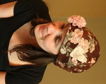 Pattern 1920's Cloche Women's Tea Hat Sewing Pattern