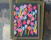 Leanne Tulip // Single Card // Fawnsberg Stationery