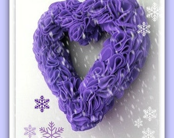 PDF Felt Ruffle Wreath