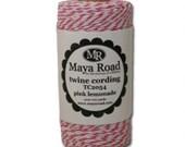 Twine Cording - Pink Lemonade by Maya Road