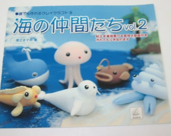 Sea Animals Clay Book Vol. 2