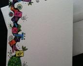 Happy Birthday Doodle Card