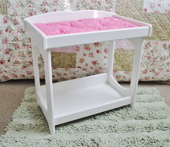 Baby Doll Changing Table Ready To Ship By Pinkietwink On Etsy