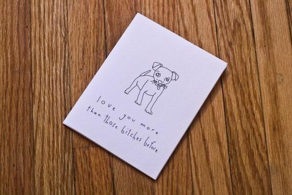 funny dog valentine
