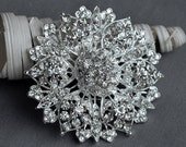 Rhinestone Brooch Crystal Brooch Wedding Brooch Bouquet Cake Invitation Decoration Hair Comb Shoe Clip Jewelry Supply BR203