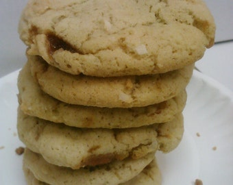 Toffee Coconut Cookies