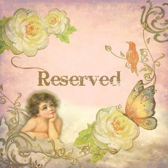 Reserved for Melissa
