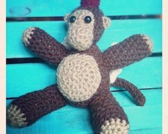Crocheted Flying Monkey Pattern
