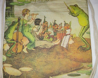 """Jazz Band, """"The Enchanted Forest"""", 1921 Backpack/tote Custom Print made to order"""