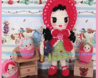 Boomii Doll Amigurumi PDF Crochet Pattern by HandmadeKitty