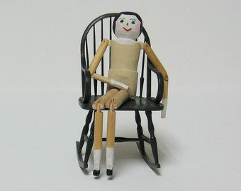 """Penny Doll for Dollhouse 5"""" tall - 1/12th scale"""