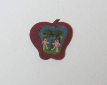 Adam and Eve in Apple - 1/12th scale