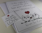 parisian . card - Line Drawn Valentine Card