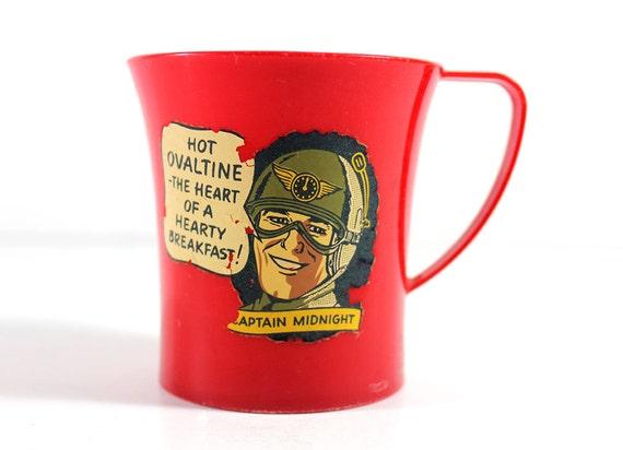 1950's Captain Midnight Ovaltine Cup