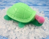 Soap -  Cute as a Bug Turtle Soap - Glycerin Soap - Great Party Favors - SoapGarden