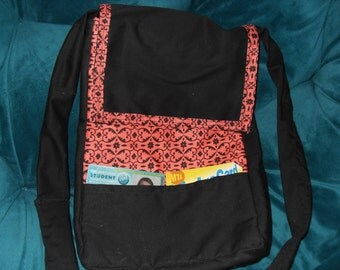 Convertible Messenger Bag/Backpack