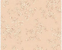 Grace Fabric Collection by Quilt Gate MR2140-16B Neutral Tonal Rose