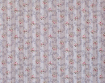 Stockport Floral Vintage Reproduction Designer Cotton Fabric  by American Folk and Fabric