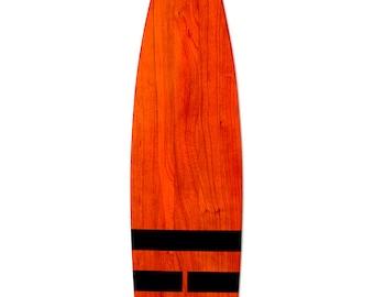 Elements series (Fire) designer cherry wood canoe paddle/oar