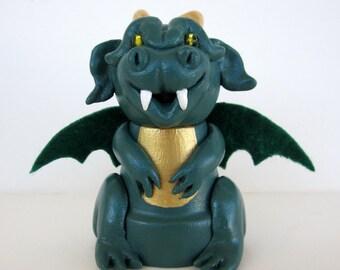 Dragon Flowerpot Bell Ornament