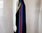 Racing stripe apron