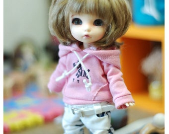 Lati yellow Pukifee Zebra Hooded -Pink
