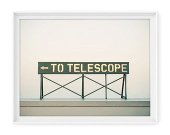Los Angeles 15 (Telescope) // Fine Art Giclée Print // Photography