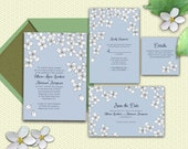 Blossoms - Printable Wedding Invitation Suite