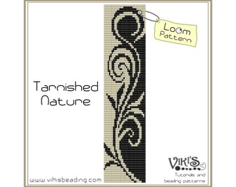 Loom Bracelet Pattern: Tarnished Nature - INSTANT DOWNLOAD pdf -Discount codes are available - bl112