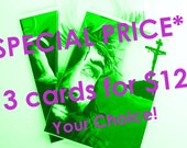 CARDS - Special Price - 3 for 12.00