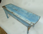 Custom order Five Board Bench in Your Choice of Colors