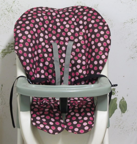 High Chair Graco Replacement Padcoverpink Striped By