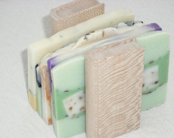 Travel Soaps / Sample Size Soaps / Soap End Sampler /  5 to 6 oz total / Artisan Soap / Guest Soap / Cold Process Soap